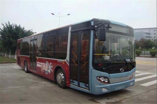 五洲龙FDG6123HEVN5公交车