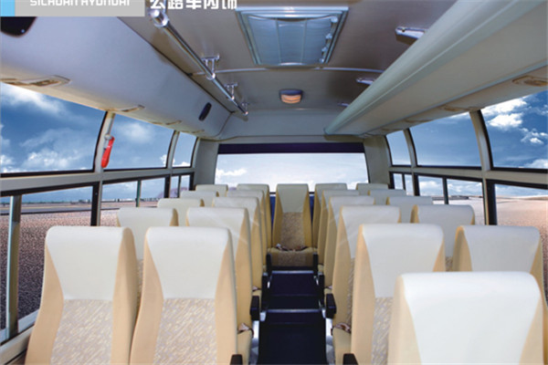 四川现代CNJ6670LQNV客车