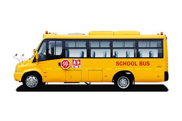 亚星JS6661XCJ01小学生专用校车