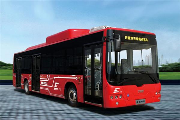中车时代电动TEG6129BEV01公交车(纯电动24-37座)
