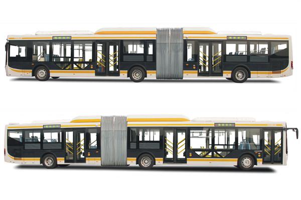 蜀都CDK6182CEG5R铰接公交车(天然气国五17-55座)