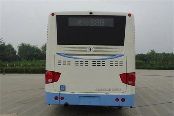 陕汽欧舒特SX6120GJHEVNS公交车