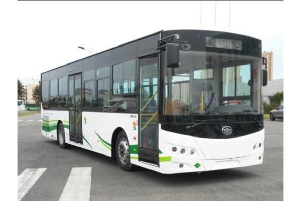 一汽CA6103URHEV32公交车(液化天然气/电混合动力国五15-22座)
