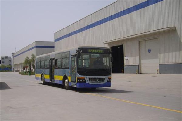 陕汽欧舒特SX6110GFFN公交车(天然气国五19-36座)