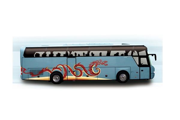 北方BFC6123L1D5J客车(柴油国五24-55座)