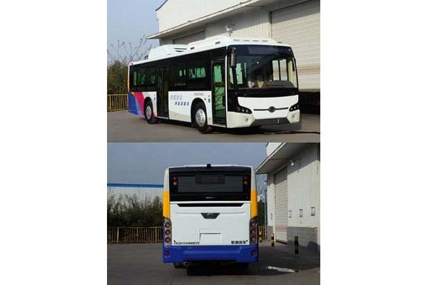 恒通CKZ6116HNHEVA5公交车(天然气/电混合动力国五19-41座)