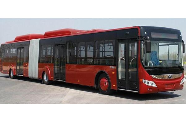 宇通ZK6180HNG2A铰接公交车
