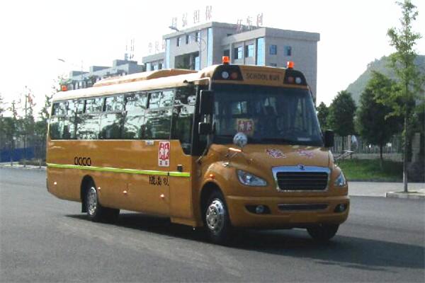 东风超龙EQ6958STV3中小学生专用校车(柴油国五24-48座)