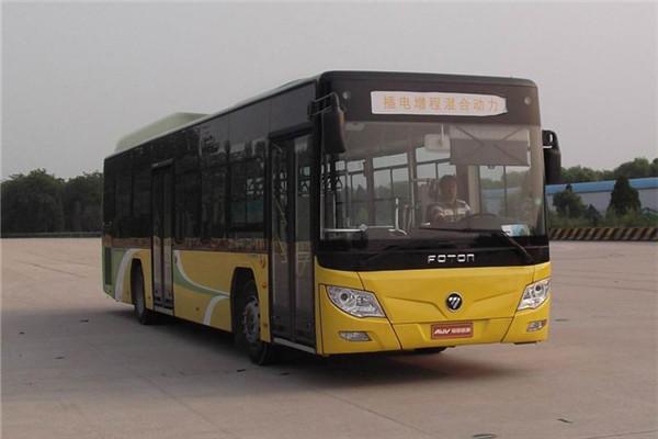 客车网 福田欧辉客车 > 福田欧辉bj6123chevca-3公交车(天然气/电混动图片