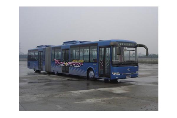 金龙XMQ6180AGD5铰接公交车(柴油国五10-58座)
