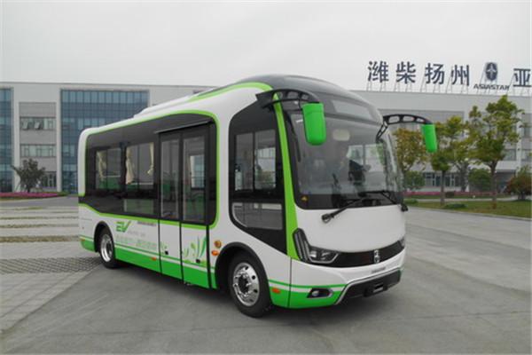 亚星JS6680GHBEV3公交车