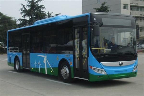 宇通ZK6105BEVG23公交车(纯电动10-39座)