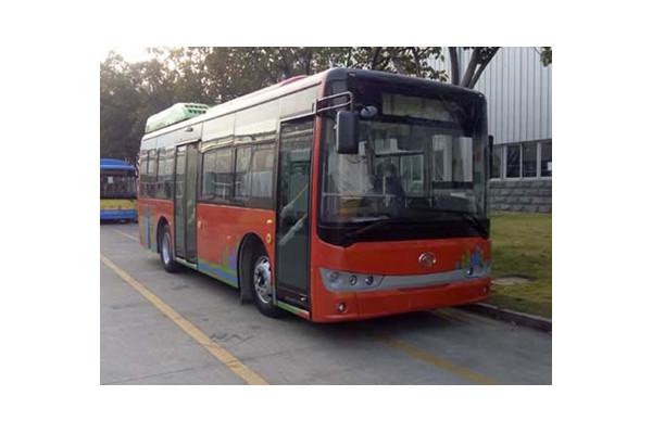 金龙XMQ6850AGCHEVD53公交车(柴油/电混动国五10-30座)