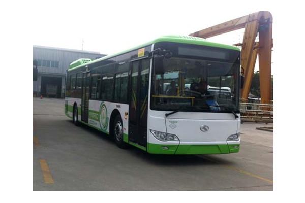 金龙XMQ6127AGCHEVN56公交车(天然气/电混合动力国五10-46座)