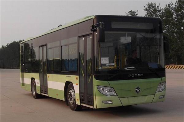 福田欧辉BJ6105CHEVCA-5插电式公交车(天然气/电混动国五10-37座)