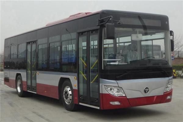 福田欧辉BJ6105CHEVCA-8插电式公交车(柴油/电混动国五10-37座)