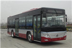 福田欧辉BJ6105PHEVCA-12插电式公交车(柴油/电混动国五10-37座)
