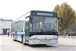 豪沃JK6126GCHEVN5Q插电式公交车(天然气/电混动国五10-48座)