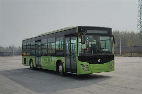 豪沃JK6129GPHEV公交车(柴油/电混动国四10-48座)