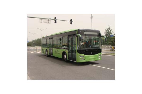 豪沃JK6119GE公交车(柴油国四24-46座)