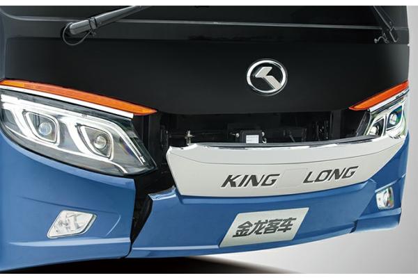 金龙龙威2代车型图-前脸细节