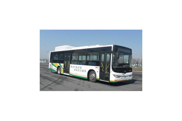 黄海DD6120CHEV4N插电式公交车(天然气/电混动国五20-41座)