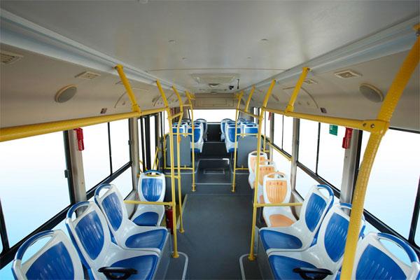 申龙SLK6859UQFCEVH公交车乘客区