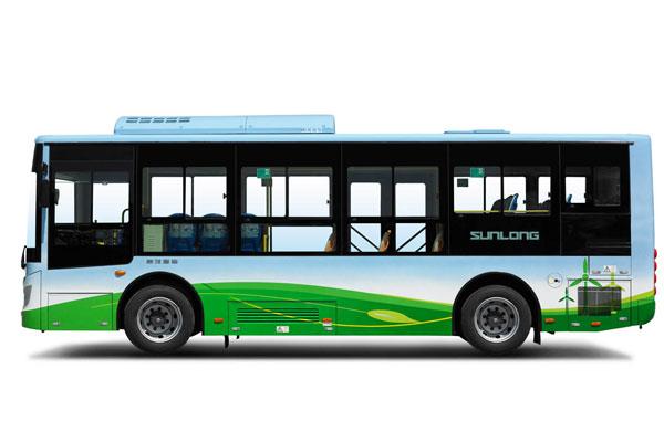 申龙SLK6859UQFCEVH公交车侧面