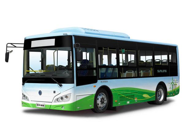 申龙SLK6859UQFCEVH公交车右侧