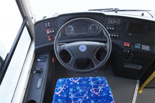 申龙SLK6859UQFCEVH公交车驾驶室