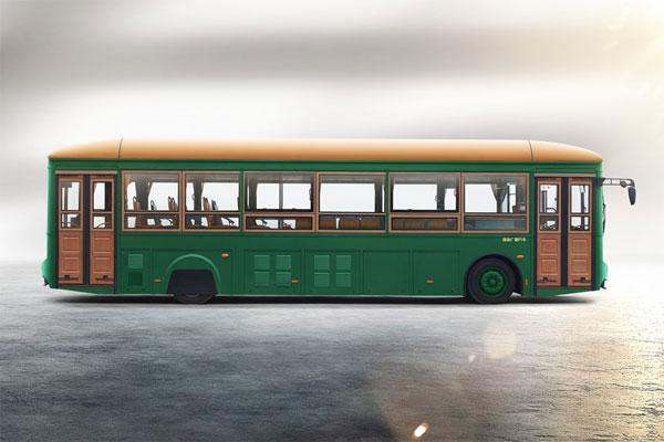 银隆GTQ6123BEVB1公交车侧面