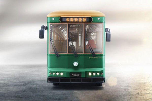 银隆GTQ6123BEVB1公交车正面