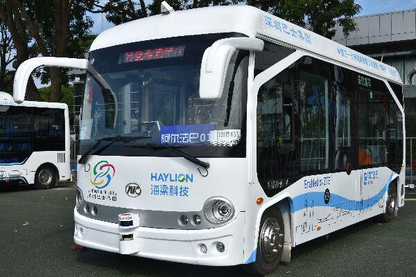 安凯无人驾驶公交车(纯电动9座)