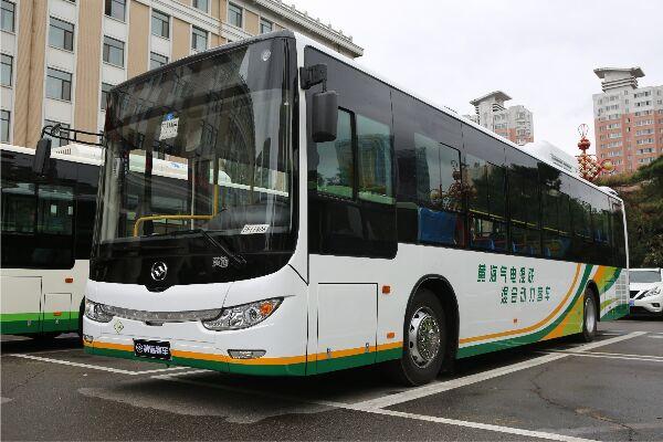 黄海DD6120CHEV1N公交车(天然气/电混动国五20-41座)