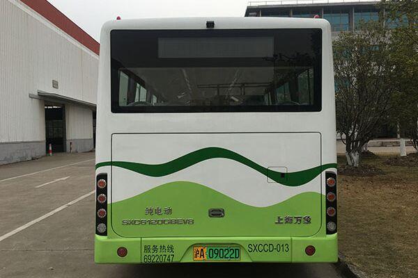 上海万象SXC6120GBEV8公交车(纯电动10-50座)