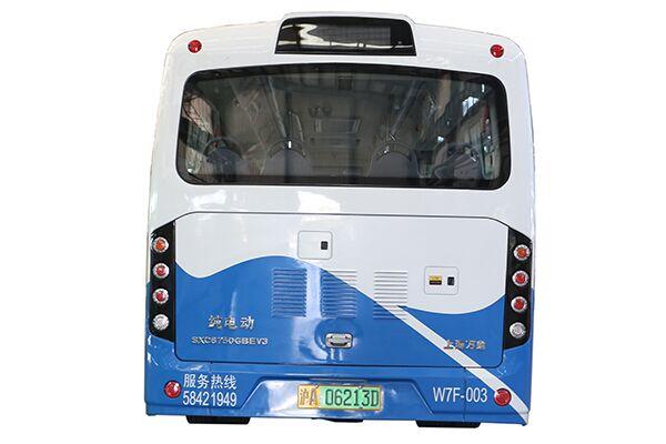 上海万象SXC6750GBEV3公交车(纯电动10-30座)