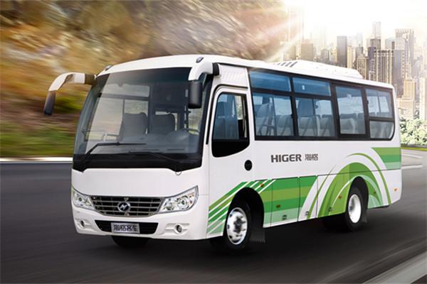 海格KLQ6756DF50客车(柴油国五24-31座)