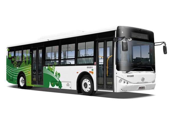 海格KLQ6109GAEVT公交车(纯电动20-39座)