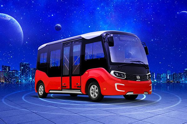 金旅XML6606JEV20C无人驾驶公交车(纯电动10-13座)