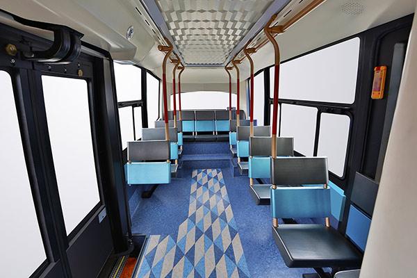 XML6606JEV金旅星辰无人驾驶系列城市客车内饰图
