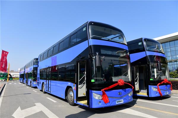 安凯HFF6110GS01DE5双层公交车