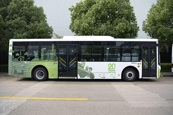 海格KLQ6109GAEVN11公交车