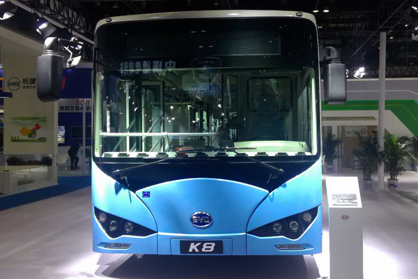 比亚迪K8车型图-正脸