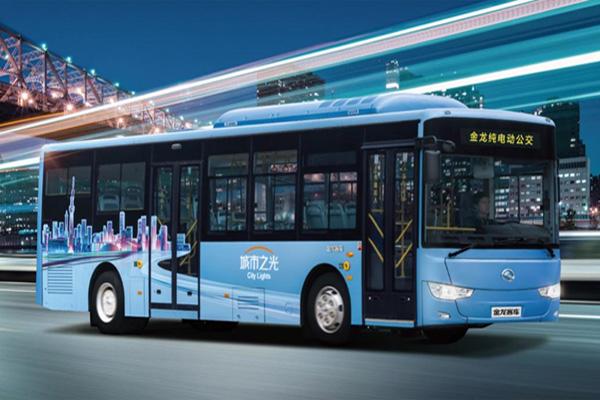 金龙XMQ6127AGBEVL7城市之光纯电动公交客车
