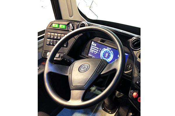 中车电动TEG6125BEV08公交车(纯电动20-38座)