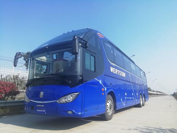 亚星YBL6148H2QP1客车(柴油国五24-65座)
