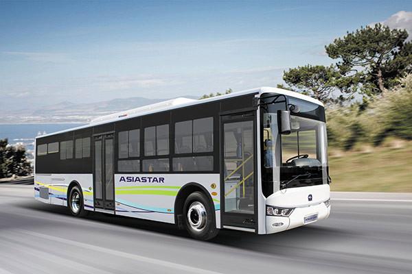 亚星JS6108GHBEV12公交车(纯电动19-43座)