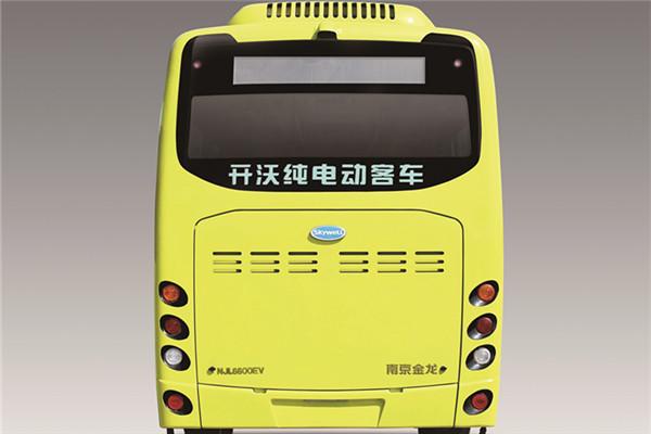 南京金龙NJL6600EVQ50公交车(纯电动11-16座)