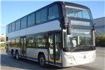 福田欧辉BJ6128C8BJD双层公交车(柴油国五38-68座)