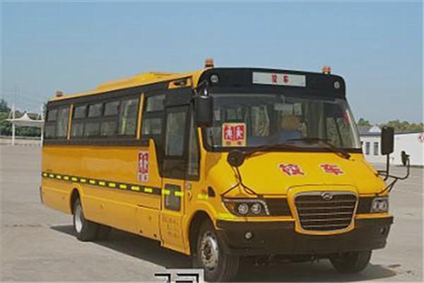 海格KLQ6976XQE5B小学生专用校车(柴油国五24-56座)